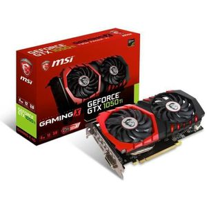 CARTE GRAPHIQUE INTERNE Carte graphique MSI GeForce GTX 1050 Ti Gaming X -