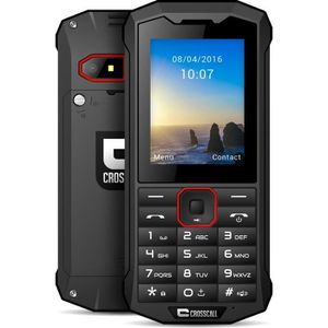 Téléphone portable Crosscall Spider X4 Noir Anti-Choc