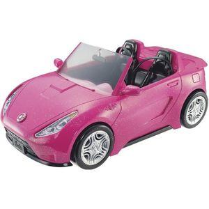 POUPÉE BARBIE - voiture Cabriolet Rose dvx59