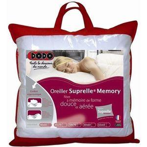 OREILLER DODO Oreiller à mémoire de forme SUPRELLE MEMORY 6