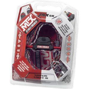 CÂBLE TV - VIDÉO - SON MTX Pack Alimentation 6 mm2 avec RCA StreetWires Z