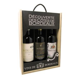 VIN ROUGE Coffret vin rouge de Bordeaux - Château Haute Comb