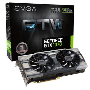 CARTE GRAPHIQUE INTERNE EVGA Carte graphique GeForce® GTX 1070 FTW GAMING