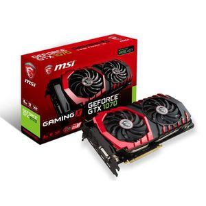 CARTE GRAPHIQUE INTERNE MSI Carte graphique GeForce® GTX 1070 Gaming X 8G