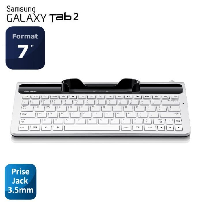 samsung clavier pour tablette galaxy tab 2 7 achat. Black Bedroom Furniture Sets. Home Design Ideas