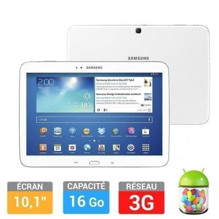 informatique tablettes tactiles ebooks samsung galaxy tab  g go white f gtpzwaxef
