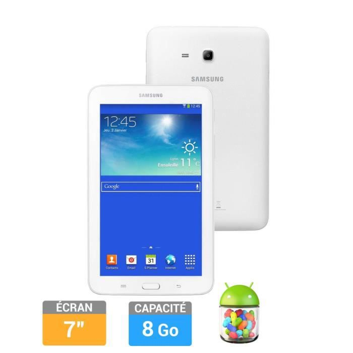 informatique tablettes tactiles ebooks samsung galaxy tab  go lite blanc f smtndwaxef