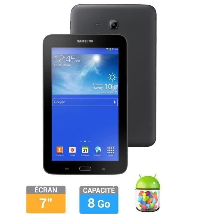 samsung galaxy tab 3 7 8go lite value edition noi prix. Black Bedroom Furniture Sets. Home Design Ideas