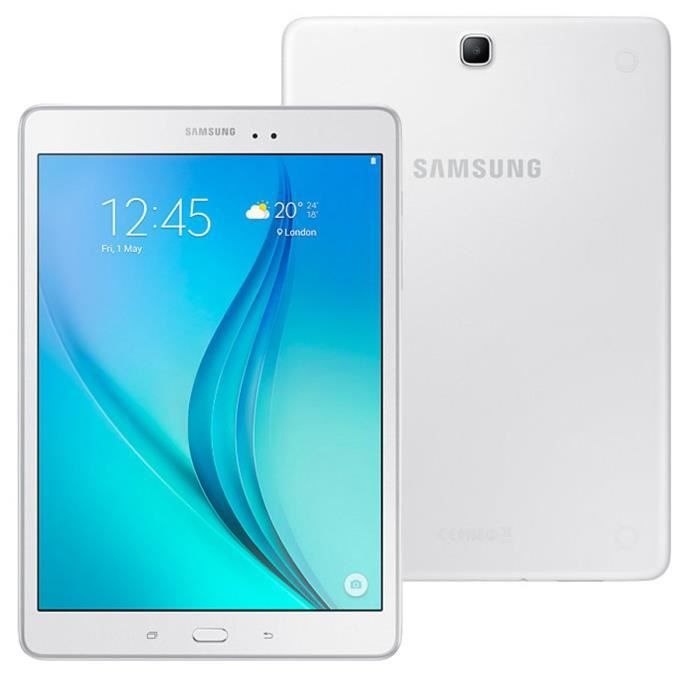 samsung galaxy tab a 9 7 16 go wifi blanc 4g prix pas cher cdiscount. Black Bedroom Furniture Sets. Home Design Ideas
