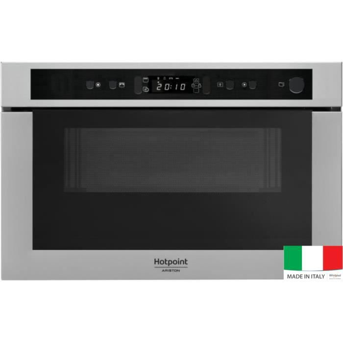 MICRO-ONDES HOTPOINT MH 400 IX - Micro-ondes combiné encastrab