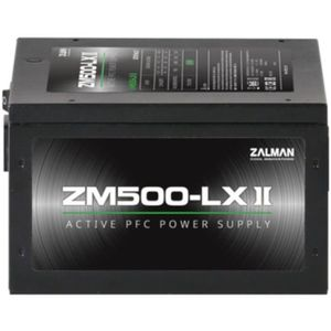 ALIMENTATION INTERNE ZALMAN - ZM500-LX II - 500W - Alimentation non mod