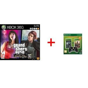 CONSOLE XBOX 360 Pack console Xbox 360 Elite GTA Episodes from Lib