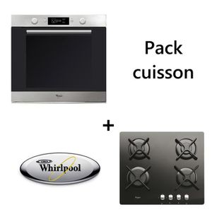 LOT APPAREIL CUISSON WHIRLPOOL - Pack cuisson : Four + table de cuisson