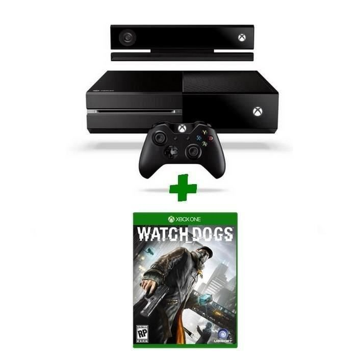 CONSOLE XBOX ONE NOUV. Console XBOX One + Kinect + Jeu Watch Dogs