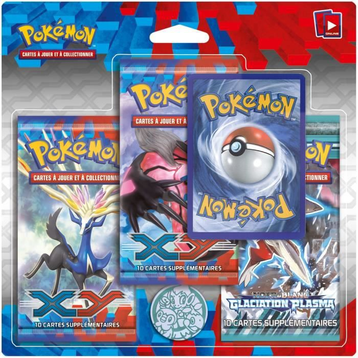 Pokemon xy pack 3 boosters xy 01 achat vente carte a collectionner cdiscount - Cart pokemon xy ...