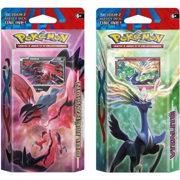 Pokemon x y starter 60 cartes xy 01 achat vente carte a collectionner cdiscount - Cart pokemon xy ...