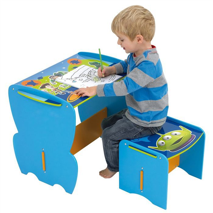 mon premier bureau et tabouret toy story achat vente. Black Bedroom Furniture Sets. Home Design Ideas