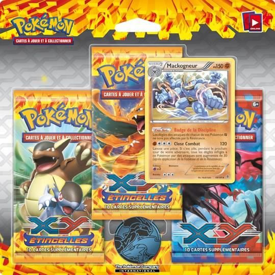 Pokemon xy pack 3 boosters xy 02 cartes achat vente carte a collectionner cdiscount - Cart pokemon xy ...