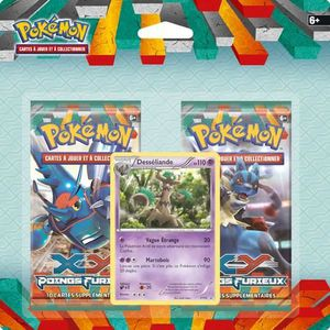CARTE A COLLECTIONNER POKEMON XY 03 Pack 2 Boosters-20 cartes
