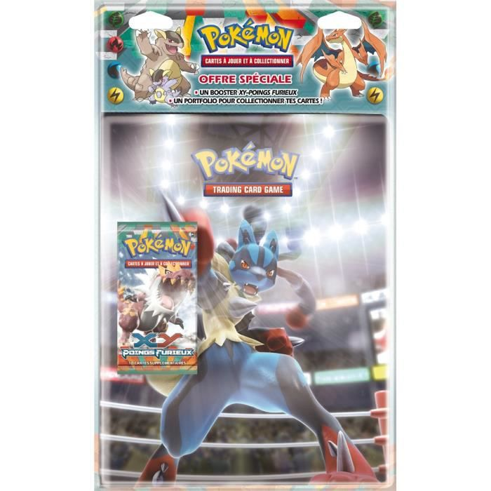 CARTE A COLLECTIONNER POKEMON XY 03 Pack Range Cartes A4 + Booster XY 03