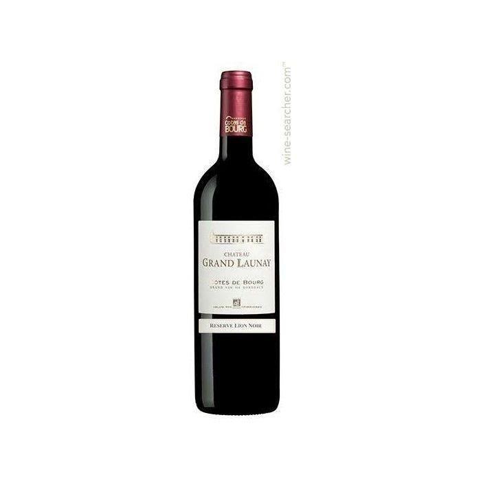 VIN ROUGE Château Grand Launay 2006 Côtes de Bourg - Vin rou