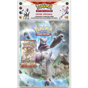 CARTE A COLLECTIONNER POKEMON - Pack Cahier Range-Cartes A4 + Booster XY