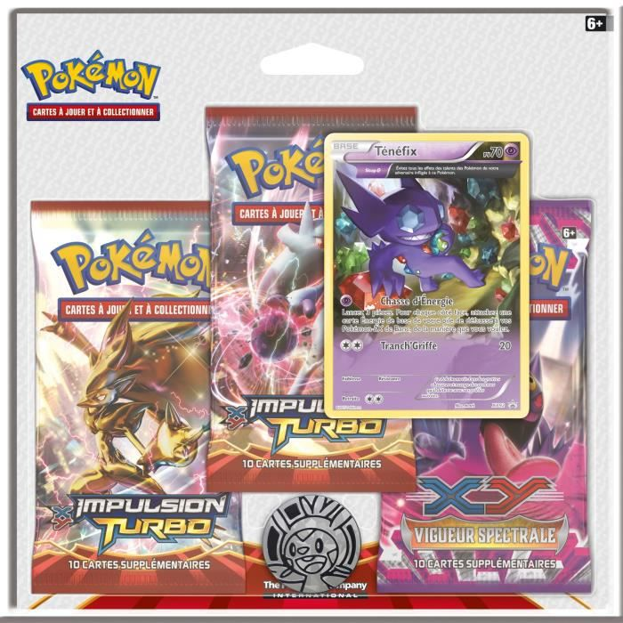Pokemon pack xy impulsion turbo achat vente carte a collectionner cdiscount - Cart pokemon xy ...