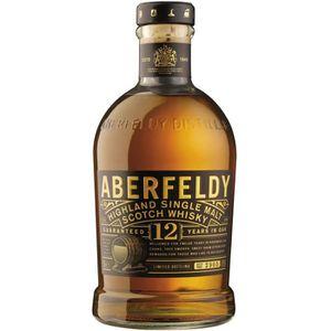 WHISKY BOURBON SCOTCH Aberfeldy 12 ans Whisky Single Malt 70 cl - 40°