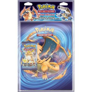 CARTE A COLLECTIONNER POKEMON Pack CahierRrange-Cartes + Booster XY12