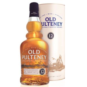 WHISKY BOURBON SCOTCH Old Pulteney 12 ans