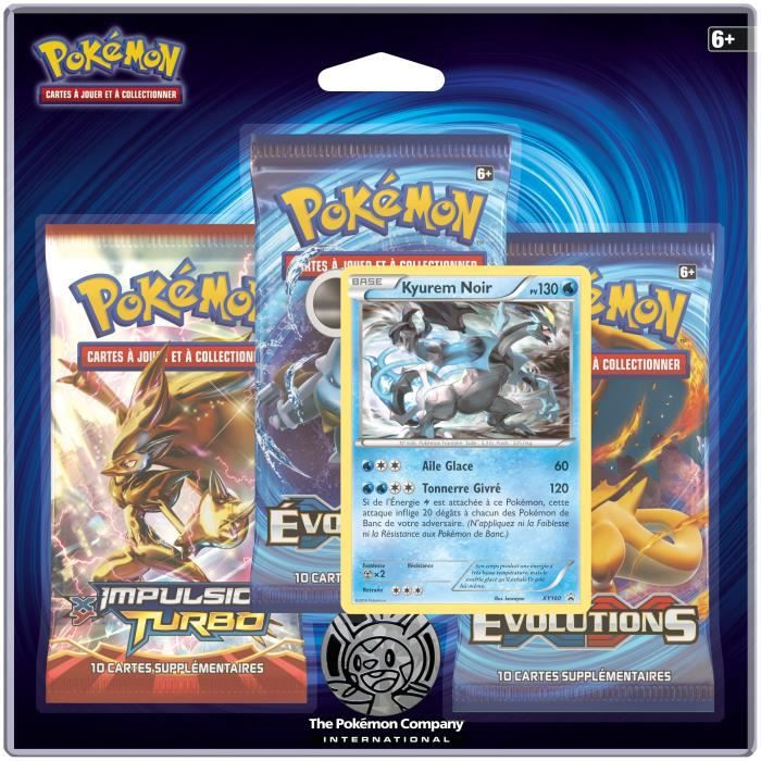 Pokemon pack 3 boosters xy 12 achat vente carte a collectionner cdiscount - Inventer carte pokemon ...
