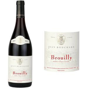 VIN ROUGE Jean Bouchard 2015 Brouilly - Vin rouge  du Beaujo