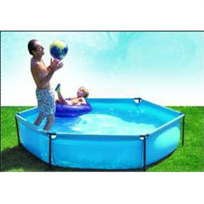 Set jet pool junior hexagonale achat vente for Piscine demontable