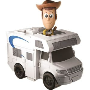 FIGURINE - PERSONNAGE TOY STORY 4 - Mini-figurine Woody et son camping-c