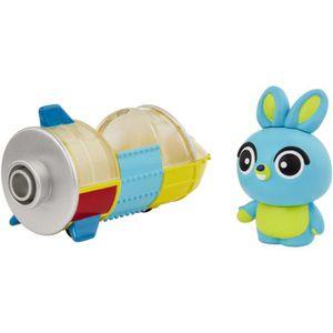 FIGURINE - PERSONNAGE TOY STORY 4 - Mini-figurine Bunny et sa fusée