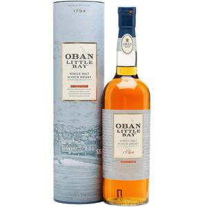WHISKY BOURBON SCOTCH Oban Little Bay - Highlands Single Malt Whisky - 4