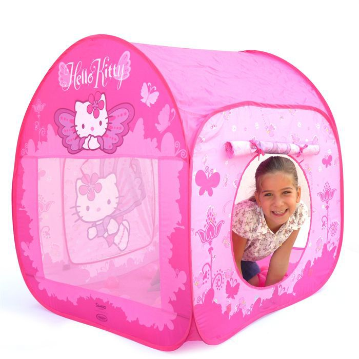 hello kitty tente toile avec 50 balles achat vente tente tunnel d 39 activit cdiscount. Black Bedroom Furniture Sets. Home Design Ideas