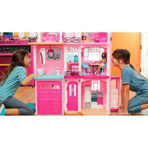 poupee barbie maison de reve achat vente jeux et jouets pas chers. Black Bedroom Furniture Sets. Home Design Ideas