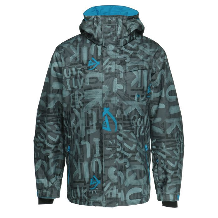 quiksilver veste ski mission printed homme achat vente blouson manteau quiksilver veste. Black Bedroom Furniture Sets. Home Design Ideas
