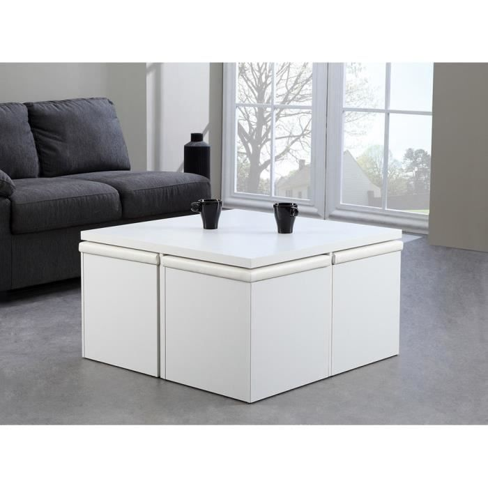table basse pouf coffre table de lit. Black Bedroom Furniture Sets. Home Design Ideas