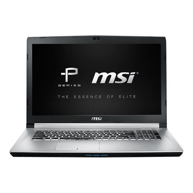destockage msi pc portable gamer pe70 6qe 239fr 17 3 full hd 8go ram windows 10 gtx. Black Bedroom Furniture Sets. Home Design Ideas