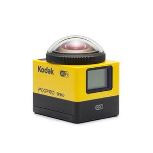 CAMÉRA SPORT KODAK - SP360-YL3 - Action cam Video 360°  - Noir/