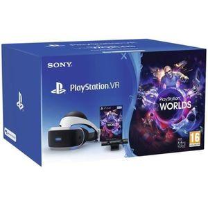 CASQUE RÉALITÉ VIRTUELLE Playstation VR V2 MK3 + Caméra V2 + VR Worlds (vou