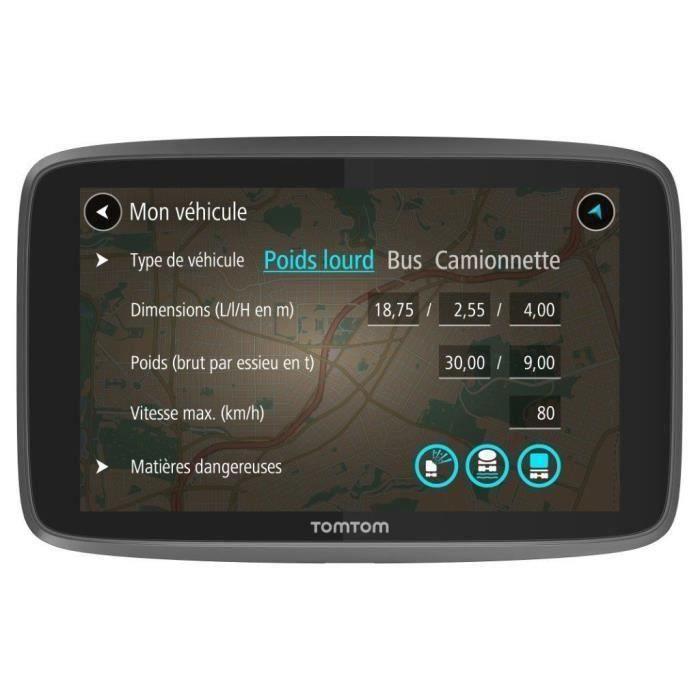 Cartographie Monde TomTom GO Premium Trafic Le dernier kilom/ètre et IFTTT via Carte SIM Incluse - GPS Auto Zones de Danger /à Vie 6 Pouces