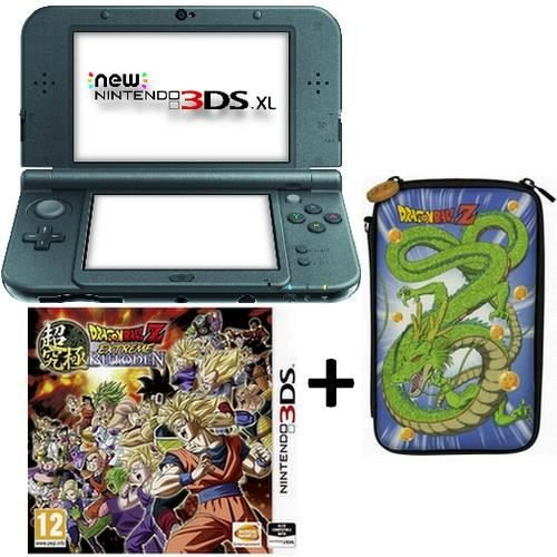 Pack new 3ds xl noire dragon ball z extreme butouden 3ds for Housse 3ds xl pokemon