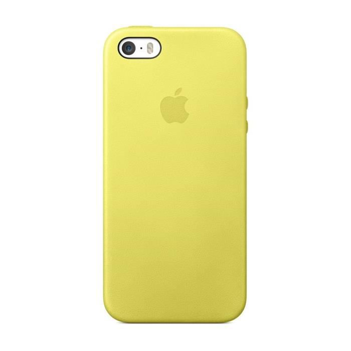 apple coque pour iphone 5s jaune achat coque bumper pas cher avis et meilleur prix cdiscount. Black Bedroom Furniture Sets. Home Design Ideas