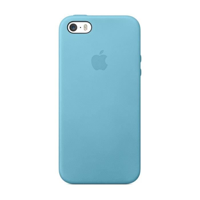 coque cuir bleu iphone 5s se achat coque bumper pas. Black Bedroom Furniture Sets. Home Design Ideas