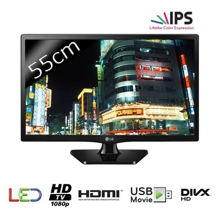 destockage lg 22mt47d tv led full hd 55cm 21 5. Black Bedroom Furniture Sets. Home Design Ideas