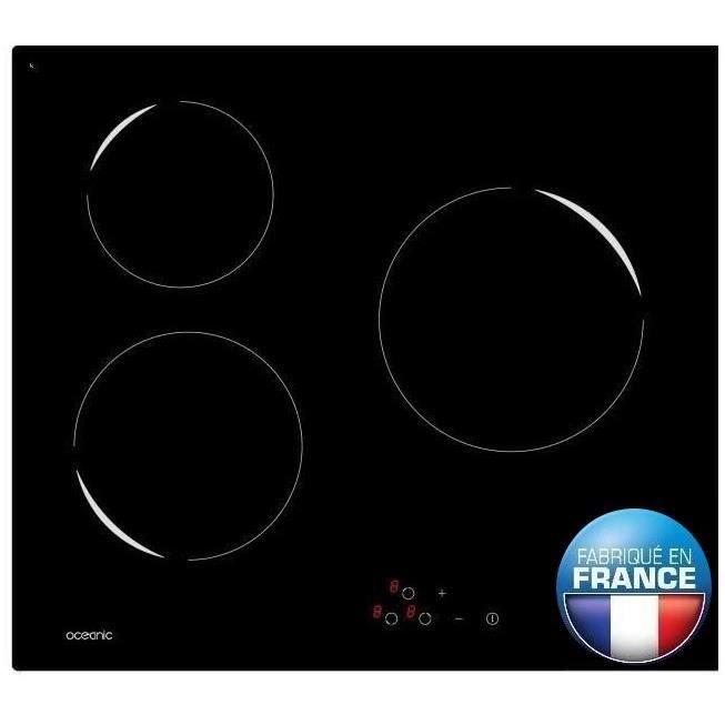 PLAQUE VITROCÉRAMIQUE  OCEANIC TV3ZSE Plaque de cuisson vitrocéramique -