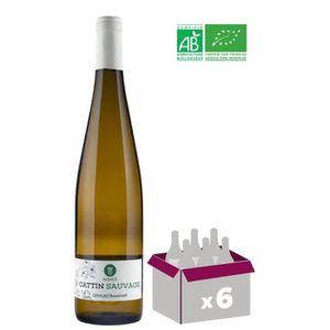 VIN BLANC Cattin Sauvage 2018 Gewurztraminer - Vin blanc d'A